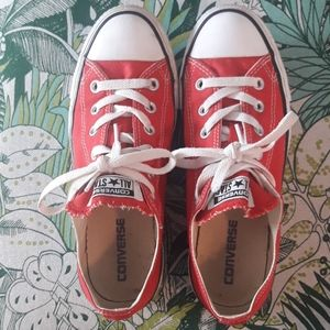 Converse All Star Chuck Taylors Red Sneakers